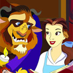 Beauty And The Beast 1 Online Coloring Game