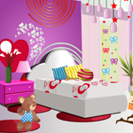 Girlie Bedroom Makeover