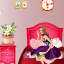 Lovely Pinky BarBie Bedroom