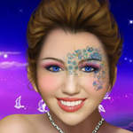 Makeup for Miley Cyrus