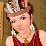Tribal Girl Makeover